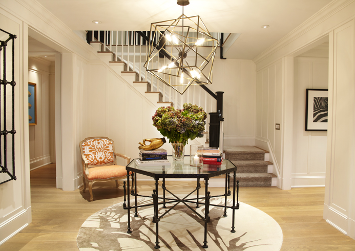 Paul davis new york bedford home for House entrance designs interior